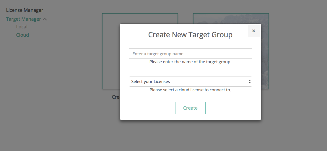 Cloud Target Group