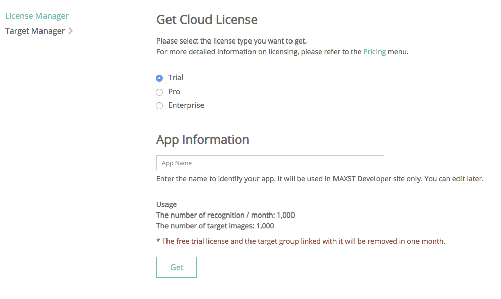Cloud License